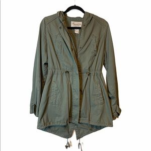 💕American Rag green utility jacket size M
